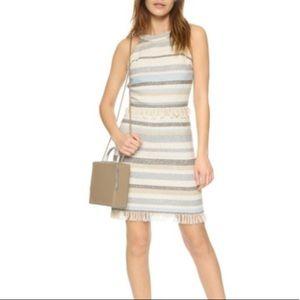 Tory Burch stripe dress.